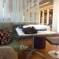 Photo taken at IUPUI:  University Library (UL) by Dan A. on 2/16/2013