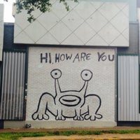 Photo taken at Hi How Are You? Mural by T. Frank S. on 6/25/2016