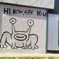 Photo taken at Hi How Are You? Mural by T. Frank S. on 8/6/2016