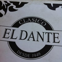 Photo taken at El Dante by Nicolás O. on 10/15/2012