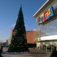Photo taken at МЕГА Дыбенко / MEGA Mall by Мадия on 12/16/2012