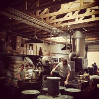 Photo taken at Four Barrel Coffee by Tim C. on 3/6/2013
