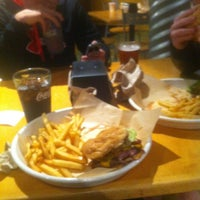 Photo taken at Monsoon Burger by Robert L. on 11/8/2012