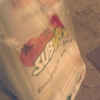 Photo taken at Subway by Deisi M. on 9/7/2012