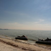 Photo taken at Fort Myers Beach by Rose D. on 1/25/2013