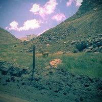 Photo taken at Mina Los pelambres by Ginnella L. on 1/30/2014