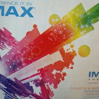 Photo taken at IMAX® Theater by Evie S. on 4/30/2016