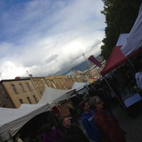 Photo taken at Salamanca Market by Paul S. on 4/20/2013