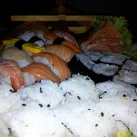 Photo taken at Sushidoro by Andrea F. on 11/9/2012