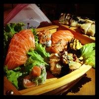 Photo taken at Hanbai Sushi Bar by Pamela L. on 12/1/2012
