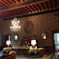 Photo taken at Villa La Principessa Hotel Lucca by Ksusha K. on 5/22/2014