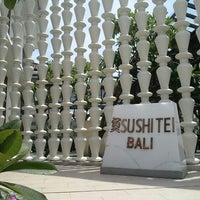 Photo taken at Sushi Tei by Joshua B. on 12/18/2012