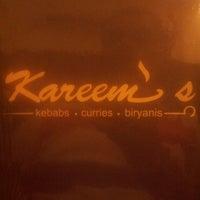 Photo taken at Kareem's by Vaibhav K. on 11/29/2013