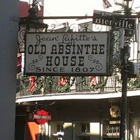 Photo taken at The Old Absinthe House by Shayne M. on 11/30/2012