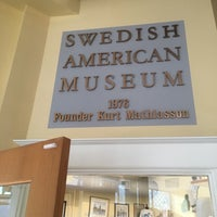 Photo taken at Swedish American Museum by David E. on 7/16/2016