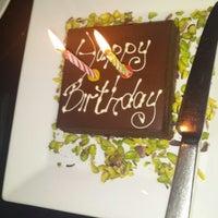 Photo taken at Conrad Teras Restaurant by Meryem G. on 1/6/2014
