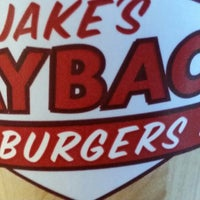Photo taken at Jake's Wayback Burgers by Jhevante L. on 8/23/2014
