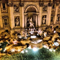 Photo taken at Piazza di Trevi by Dmitry M. on 5/6/2013