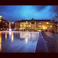 Photo taken at Rautatientori by Natalia B. on 11/28/2012