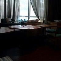 Photo taken at Cafe de La Musique by Gabriela S. on 11/13/2012