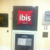 Photo taken at Ibis Hotel Sevilla by Carlos G. on 6/13/2014