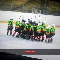 Photo taken at Talsu hokeja klubs (Talsi Ice Hockey club) by Elza Anna G. on 1/17/2016