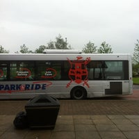 Photo taken at Monks Cross Park & Ride by Chris K. on 6/3/2014