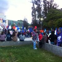 Photo taken at Parque Escuela Normal by Carlos G. on 11/14/2013