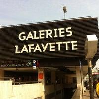 Photo taken at Galeries Lafayette Montparnasse by Nastasia A. on 3/29/2013