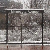 Photo taken at Minnesota Avenue Metro Station by Roy G. on 3/25/2013