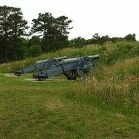 Photo taken at Yorktown Battlefield National Park by Michelle P. on 5/27/2013