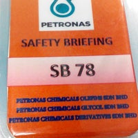 Photo taken at Petronas Petrochemical Integrated Complex by Muslim Y. on 10/5/2015
