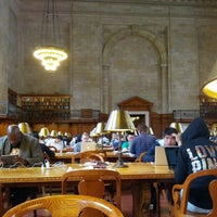 Photo taken at Rose Main Reading Room - New York Public Library by Jeffrey K. on 5/22/2013
