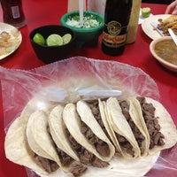 Photo taken at Tacos El Güero by Juan Carlos A. on 12/2/2012