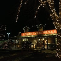 Photo taken at Yankee Candle Flagship Store by Dorothy S. on 12/29/2012
