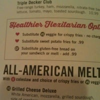 Photo taken at Silver Diner by Veronica D. on 8/5/2013