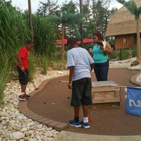 Photo taken at Essex County Mini Golf Safari by frank g. on 7/13/2015