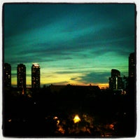 Photo taken at BTS Saphan Taksin (S6) by Songrit K. on 11/25/2012