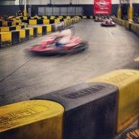 Photo taken at Pole Position Raceway Corona by Korbyn D. on 1/28/2014