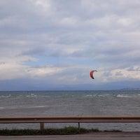 Photo taken at Liani Ammos Beach by Nikos Z. on 3/16/2013