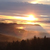 Photo taken at Spencer Butte Park by Luis E. on 1/23/2013