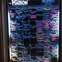 Photo taken at Maison by Dustin O. on 11/21/2012