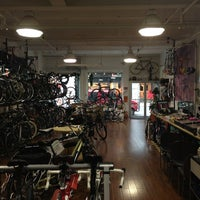 Photo taken at Zen Bikes by Anders N. on 12/20/2012