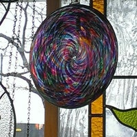 Photo taken at Bearden's Stained Glass & Door by Risa G. on 12/19/2012