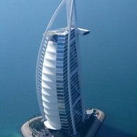Photo taken at Burj Al Arab by CaЯToon D. on 4/14/2013