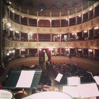 Photo taken at Teatro Comunale Piermarini by FORM O. on 2/13/2015