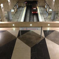 Photo taken at Metro Alameda [VD,VM] by Helder L. on 12/13/2012