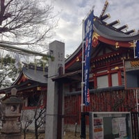 Photo taken at 綱敷天満神社 by Abel T. on 1/17/2013