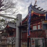 Photo taken at 綱敷天満神社 by Abel T. on 1/17/2013