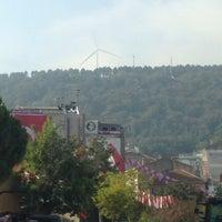 Photo taken at Cumhuriyet Meydanı by muzaffer a. on 10/30/2013